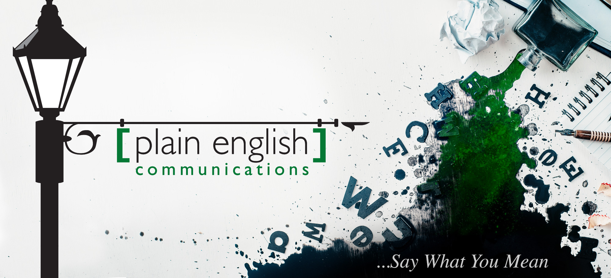 Plain English Communications...Say What You Mean